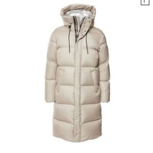Mackage Water Repellent Down Puffer Coat In Champagne
